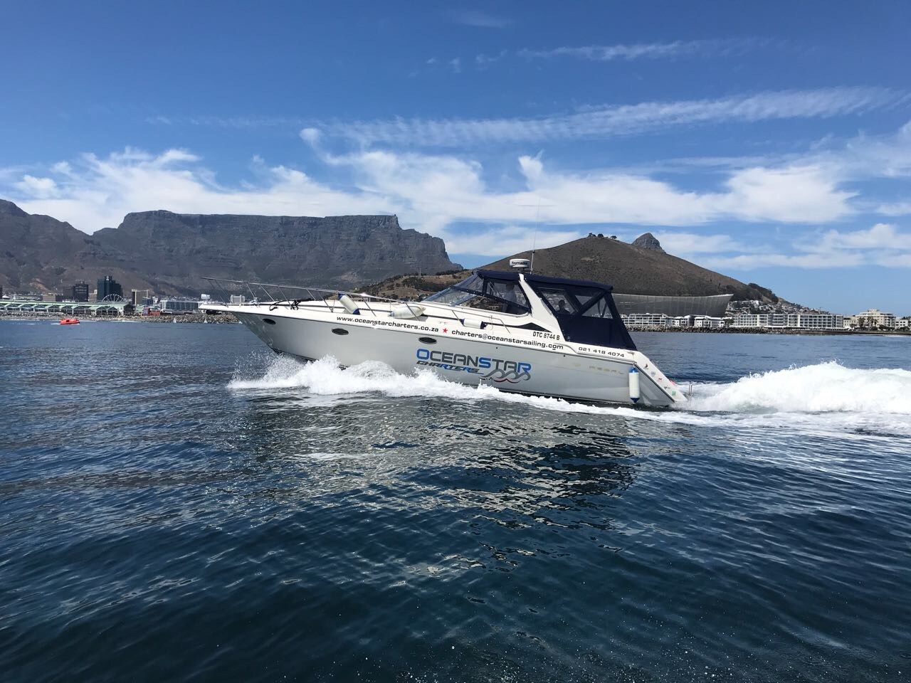 charters in cape town
