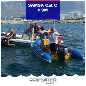 SAMSA Cat C up to 9m